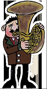 Logo der Blaskapelle Kraiburg