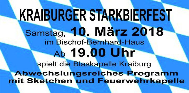 """Erstes Kraiburger Starkbierfest """"steht in den Startlöchern"""""""