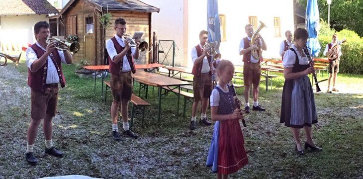 Biergartenmusik in Frauendorf